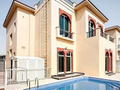 5 Bedroom Villa for Rent in The Villa, Dubai - Custom Built Villa In Prime Courtyard With Pool