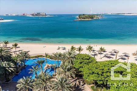 شقة 2 غرفة نوم للبيع في نخلة جميرا، دبي - Sea View / Type D / Jash Falqa / Vacant