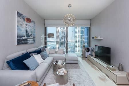 فلیٹ 1 غرفة نوم للبيع في دبي مارينا، دبي - Marina View   Mid Floor   Vacant   Brand New