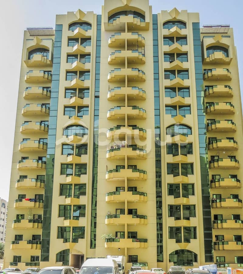 luxurious  Apartment two bed room for sall  in Al Rashidiya towers, big size ,open view