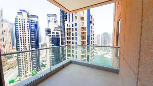 2 Bedroom Flat for Rent in Dubai Marina, Dubai - Ready to Move in   Partial Sea View   2BR   High Floor   Vacant
