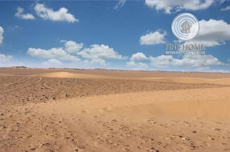 Plot for Sale in Shakhbout City (Khalifa City B), Abu Dhabi - A Corner Residential Land in Shakhbout City