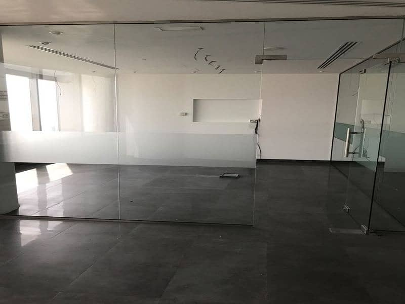 Fitted High Floor Office with Sea view