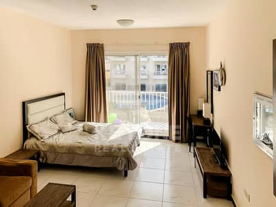 Studio for Sale in Jumeirah Village Circle (JVC), Dubai - Pool View | Balcony | Furnished | Vacant