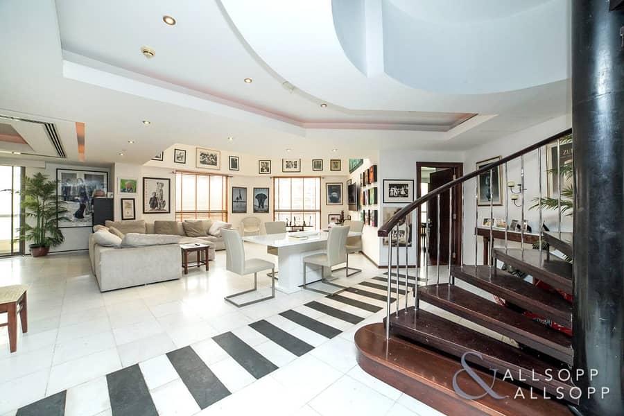 4 Bed Duplex | Marina Views | 2 Balconies