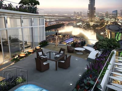 3Bed Apartment Full View of Burj And Fountain