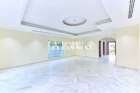 Large customized villa with basement and  pool