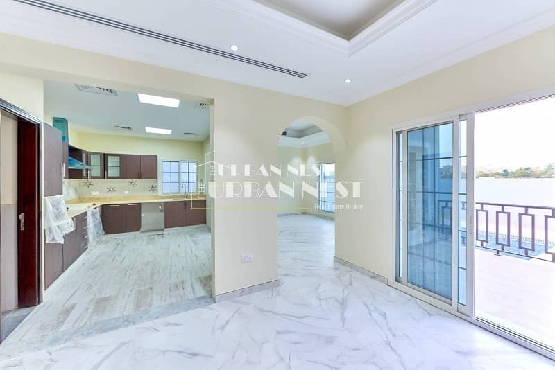 2 Large customized villa with basement and  pool