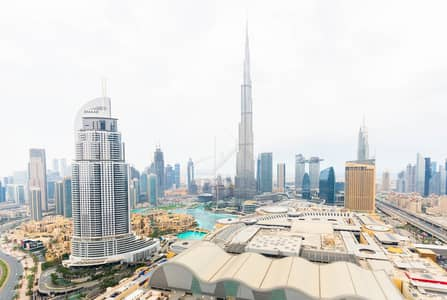 3 Bedroom Apartment for Rent in Downtown Dubai, Dubai - Luxury|Burj and Fountain View|3BR+M| Serviced Apt