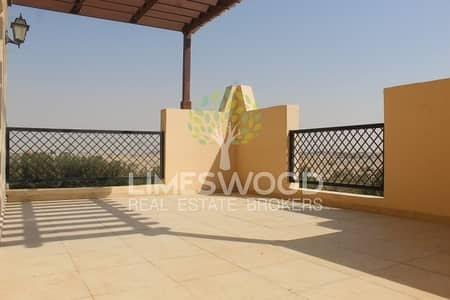 1 Bedroom Apartment for Rent in Remraam, Dubai - Close Kitchen With Huge Terrace in Thamam