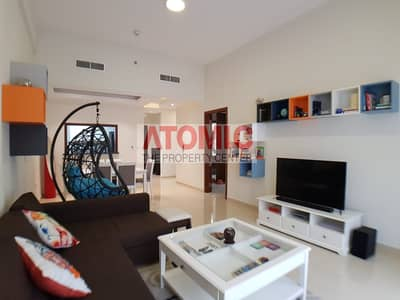 1 Bedroom Flat for Rent in Jumeirah Village Circle (JVC), Dubai - Fully Furnished 1 Bedroom Apt. + Study