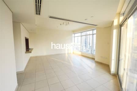 1 Bedroom Apartment for Rent in Downtown Dubai, Dubai - High Floor | Best Layout | Unfurnished | Nice View