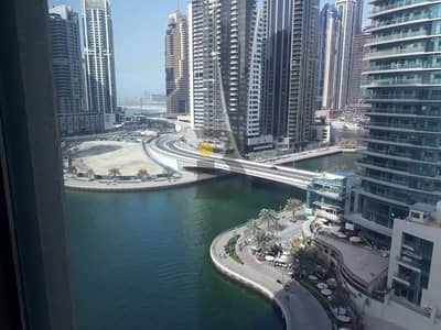 1 Bedroom Apartment for Rent in Dubai Marina, Dubai - Time Place Tower:  DEWA FREE 1BR 69K Close to Metro