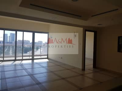 فلیٹ 1 غرفة نوم للايجار في الطريق الشرقي، أبوظبي - Spectacular 1 bedroom Apartment with Balcony and Kitchen Appliances  in Khalifa Park