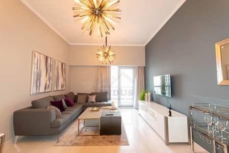 فلیٹ 1 غرفة نوم للايجار في دبي مارينا، دبي - Designer Fit-Out | High Floor Luxury 1BR Apt