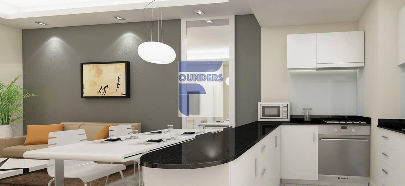 10 Affordable Offplan Luxury Studio | Canal View | Dubai Sports City