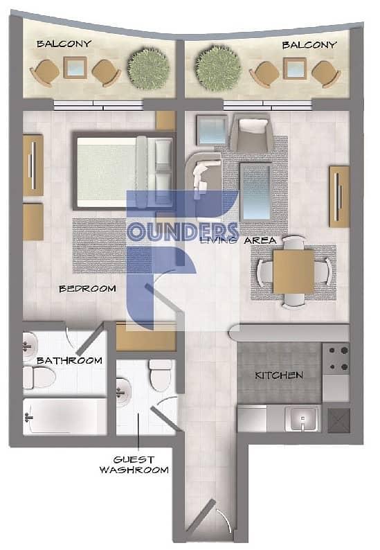 2 Incredible Views | Offplan 1 Bedroom Apartment | Post Handover Payment Plan