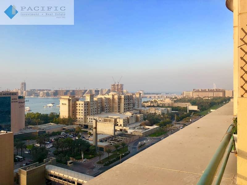 Beautiful 1BR | Guest Bath | Balcony | Sea Views
