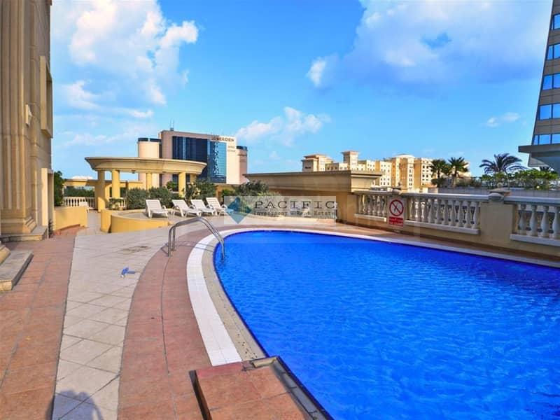 11 Beautiful 1BR | Guest Bath | Balcony | Sea Views