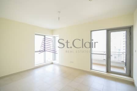 2 Bedroom Apartment for Rent in Downtown Dubai, Dubai - Chiller Free | 2 Bed Unfurnished | Burj View