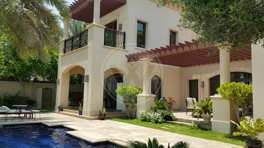4 Bedroom Villa for Sale in Saadiyat Island, Abu Dhabi - EXCLUSIVE One step away from beach St Regis Villa
