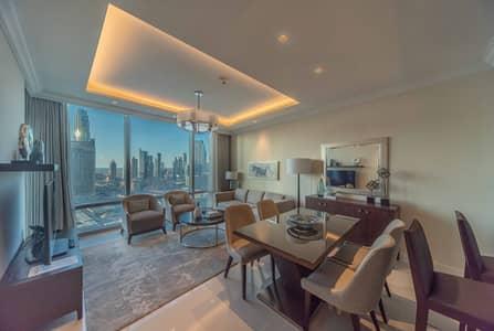 فلیٹ 1 غرفة نوم للبيع في وسط مدينة دبي، دبي - High Floor with Full Burj Khalifa View