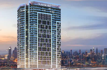 1 Bedroom Apartment for Sale in Business Bay, Dubai - Elegant Bedroom |  Post Hand over Payment Plan