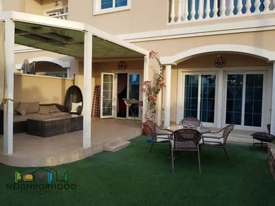 2 Bedroom Townhouse for Rent in Jumeirah Village Circle (JVC), Dubai - Upgraded and Converted 3 bed +Maid room