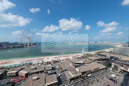 فلیٹ 3 غرفة نوم للبيع في مساكن شاطئ جميرا (JBR)، دبي - Full Sea View | 3 Bed + Maid's | RIMAL 6