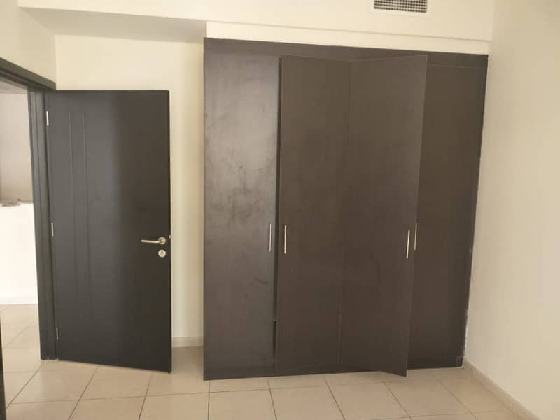 1 Bedroom Hall With Spacious Balcony Store Room Parking In Mazaya- Queue Point, Dubai Land.