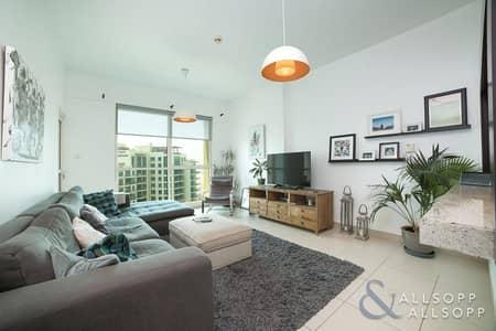 فلیٹ 1 غرفة نوم للبيع في ذا فيوز، دبي - 1 Bed | Canal Golf Course View | Balcony
