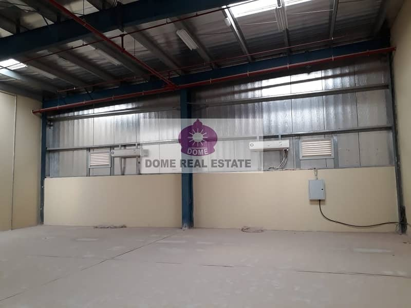 Well maintained Commercial   Warehouse available for rent in Nad Al Hamar