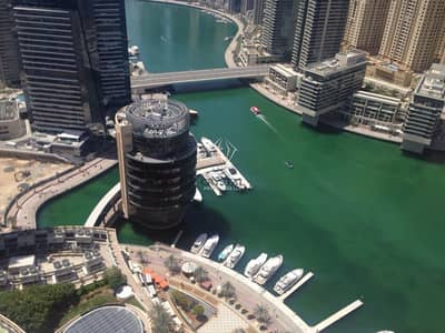 Studio for Rent in Dubai Marina, Dubai - Luxury Furnished Studio!High Floor Address Marina