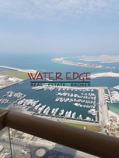 1 Bedroom Flat for Rent in Dubai Marina, Dubai - 4 cheques I 1BR I Sea and Marina View