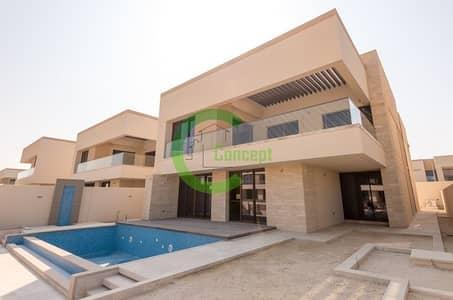 فیلا 5 غرفة نوم للبيع في جزيرة السعديات، أبوظبي - Get This Luxury Waterfront Landscape Villa
