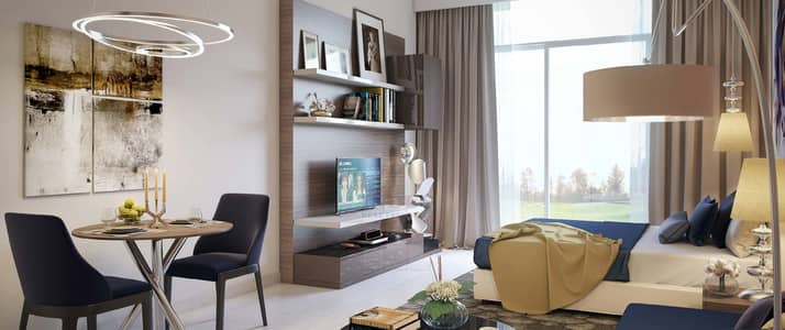 1 Bedroom Flat for Sale in DAMAC Hills (Akoya by DAMAC), Dubai - Golf Facing Apartments | Bellavista Damac Hills