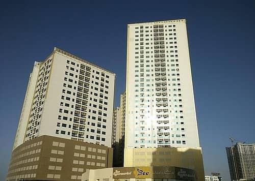 بسعر متميز جدا امتلك غرفتين وصاله فى ابراج لؤلؤة عجمان 1312 قدم.