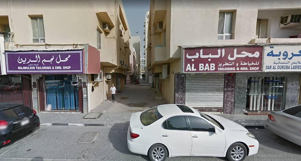 محل للايجار بقلب سوق المجرة  |قرب مسجد بن درويش| 19000 درهم|