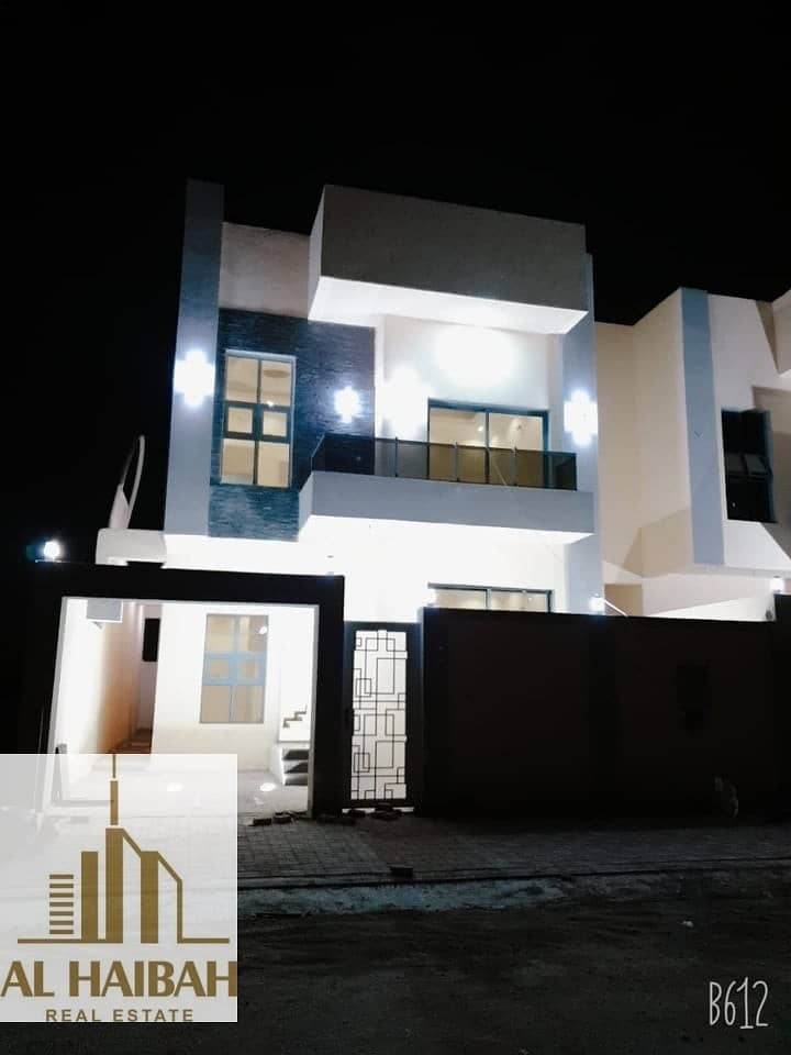 2 New villa for sale in the Emirate of Ajman at a great price and fantastic