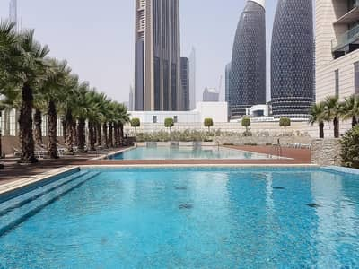 Burj Daman | Unfurnished 3BR Apt | High Floor