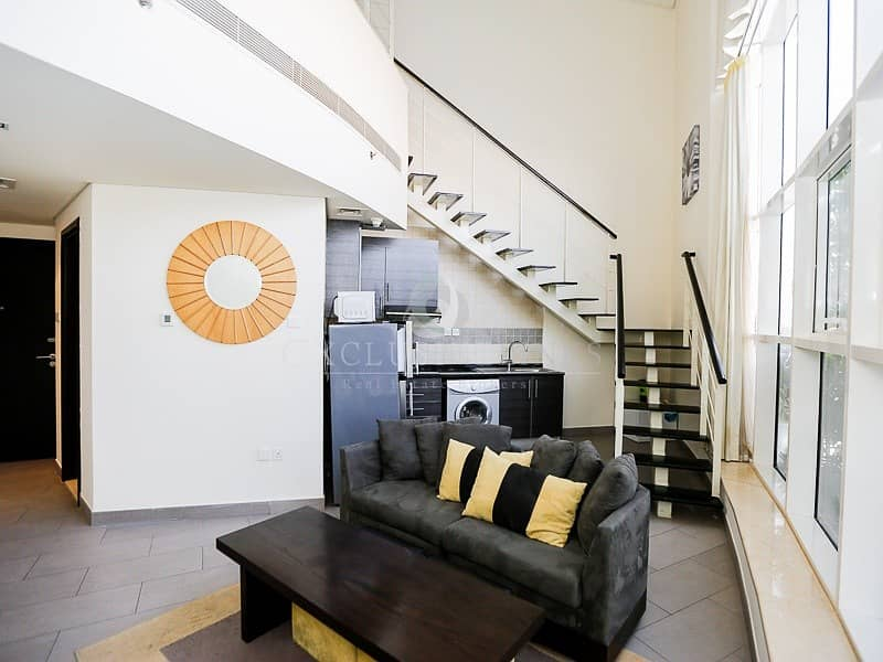 10 Unique Fully Furnished  Loft One Bedroom