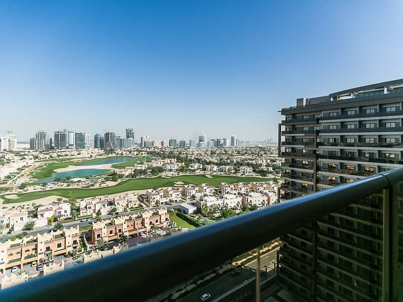 10 1 bed furnished apartment with golf course view