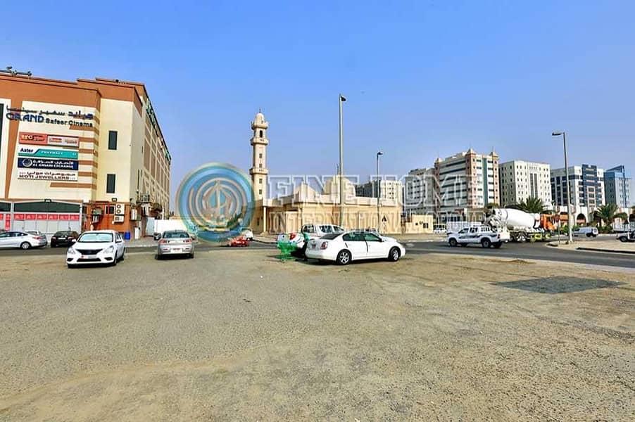 2 2 corner land in Mohammed bin zayed City