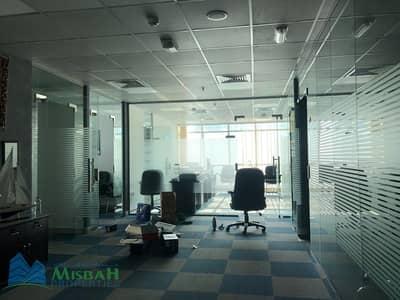 مکتب  للايجار في القصيص، دبي - Fully Fitted 1602sqft Office with Furniture and Parking near LULU Hypermarket