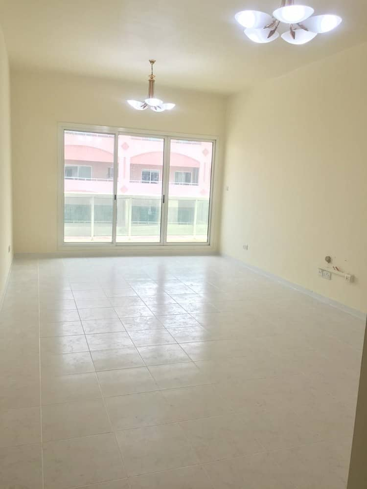 NO COMMISSION , SPACIOUS ONE BEDROOM IN QUSAIS NEXT AIRPORT FREEZONE METRO.