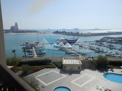 1 Bedroom Apartment for Sale in Al Hamra Village, Ras Al Khaimah - Beautiful full sea view Marina 1 bedroom