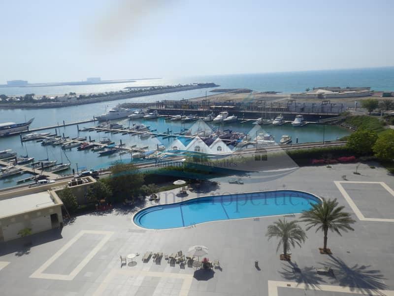 2 Beautiful full sea view Marina 1 bedroom