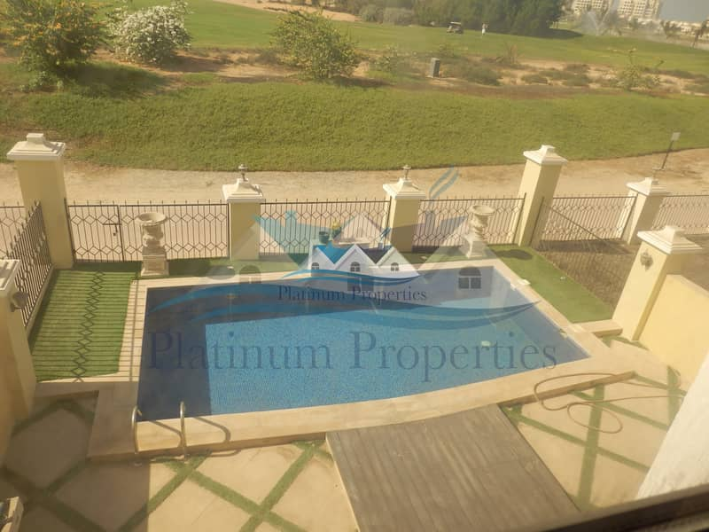Unfurnished Golf view Town house private pool
