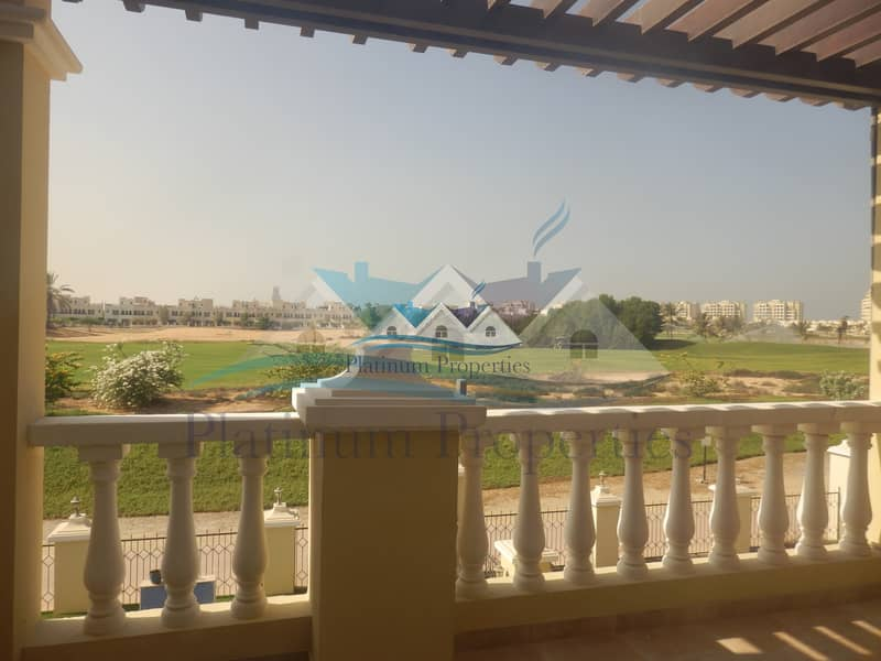 2 Unfurnished Golf view Town house private pool