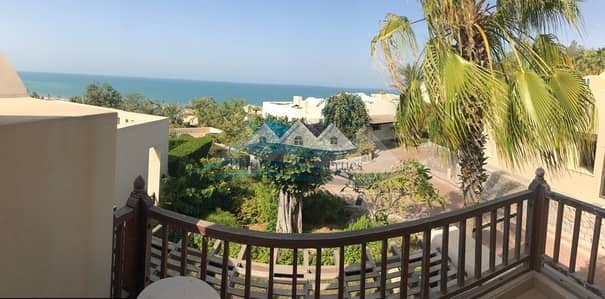 1 Bedroom Villa for Rent in The Cove Rotana Resort, Ras Al Khaimah - Stunning sea view 1 bedroom villa fully furnished